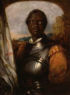 William Mulready (Irish, 1786-1863) Ira Aldridge, Possibly in the Role of Othello 1826 oil on panel