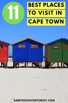 Best Places To Visit in Cape Town Cape Town should be on your bucket list. It has picturesque landscapes, history, culture, great food scene, and so much to do. No wonder it was voted as one of the best cities in the world. Read more to see why. Visit South Africa, Cape Town South Africa, Africa Destinations, Travel Destinations, Boulder Beach, Table Mountain, Koh Tao, Africa Travel, Best Cities