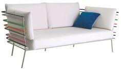 super fun outdoor furniture from French designer Cedric Dequidt for Roche Bobois