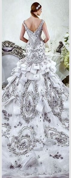 Wedding dress lace wedding dress 2016 - And original dress short lace bride. This wedding dress with her bustier and lace sleeves, worn with ankle length but can be shortened or lengthened according. Wedding Dresses 2014, Bridal Dresses, Wedding Gowns, Gatsby Wedding, Boho Wedding, Elegant Wedding, Ball Dresses, Ball Gowns, Beauty And Fashion