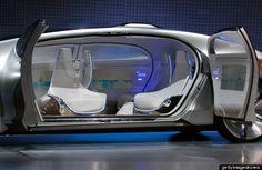 Autonomous Driving Concept Car of Mercedes-Benz @2015CES