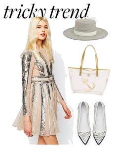 """DRESS"" by masayuki4499 ❤ liked on Polyvore featuring ASOS, Janessa Leone and MACBETH"
