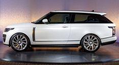 Range Rover SV Coupe Looks Stunning In Leaked Images #news #Geneva_Motor_Show