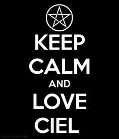 Keep Calm....- Black Butler