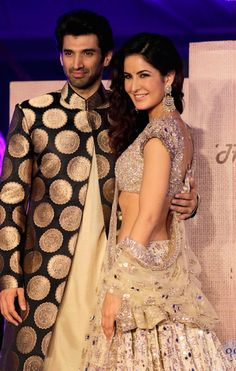 The lead stars of Fitoor, Aditya Roy Kapur and Katrina Kaif (Photo: Yogen Shah)