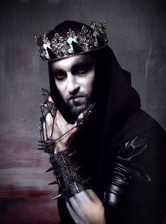 King And Queen Costume, King Costume, Black Tiara, Gothic Crown, Dark Princess, Metal Crown, Hair Jewels, Queen Crown, Fantasy Creatures