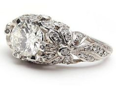 Engagement Ring Antique Style 25