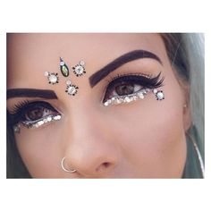 """?SOPHIE?HANNAH?RICHARDSON?? on Instagram: """"Weekend makeup inspiration... ❤ liked on Polyvore featuring beauty products, makeup, eye makeup, eyes, laura geller cosmetics, laura geller makeup and laura geller"""