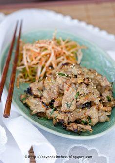 Mack-jeok, the royal Korean pork