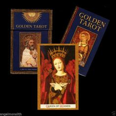 Sammlerstück Golden Tarot Das Goldene Tarot Kartenlegen Kat Black
