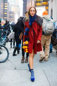 Street Style from New York Fashion Week Fall 2016   StyleCaster