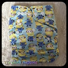 Minion BTP nappy (PUL) Cloth Nappies, Patterned Shorts, Minions, Men, Clothes, Outfits, Printed Shorts, Clothing, The Minions