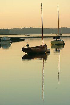 à l'Ile-Tudy © Paul Kerrien @ http://toilapol.net #Bretagne #Finistere - soirée du 30 aout