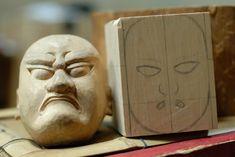 Japanese Bunraku puppet in progress