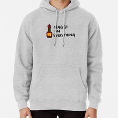 """""""Maggi On Everything"""" Pullover Hoodie by bonniemamadraws 
