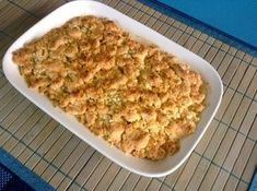 Apfelcrumble - Glutenfrei Backen und Kochen bei Zöliakie. Glutenfreie Rezepte, laktosefreie Rezepte, glutenfreies Brot