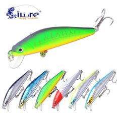 2017 New Good Quality fishing lure Minnow 70mm/6g 0.5-1 Mt Dive Artificial Bait Hard Plastic 3D Eyes wobbler Professional Baits - http://mixre.com/2017-new-good-quality-fishing-lure-minnow-70mm6g-0-5-1-mt-dive-artificial-bait-hard-plastic-3d-eyes-wobbler-professional-baits/ #FishingLures