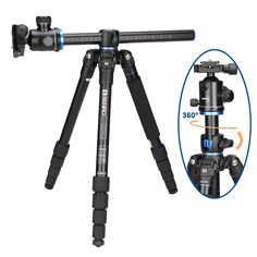 263.04$  Buy now - http://alinv4.worldwells.pw/go.php?t=32391353498 - Benro GA169TB1 Aluminum Monopod Flexible Tripod For Camera With B1 Tripods Ballhead 5 Section Max Loading 12kg DHL Free Shipping
