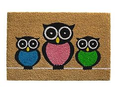 Felpudo Ruco Print Owls - 60x40 cm