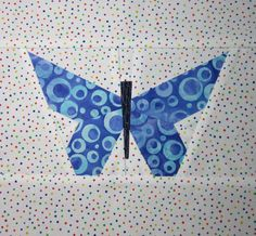 Free Pieced Butterfly Quilting Pattern/Tutorial. $5.00, via Etsy.