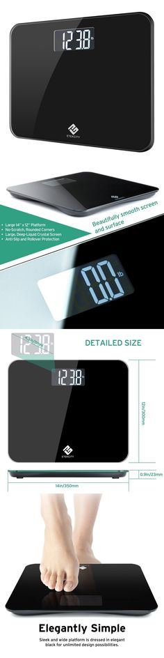 Scales Personal Bathroom Scale Weight Body Heath Fitness - Large display digital bathroom scales for bathroom decor ideas
