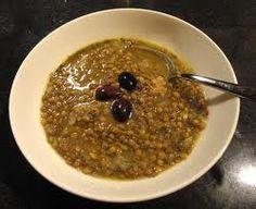 Φακές Εγκλουβής Greek Beauty, Lent, Oatmeal, Soup, Pudding, Breakfast, Desserts, Recipes, Inspiration