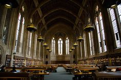 Suzzallo Library at University of Washington, Seattle   19 Totally Magical Libraries To Visit Before You Die