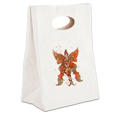 Canvas Lunch Tote www.teeliesfairygarden.com Don't leave home without this *handy* Canvas Lunch Tote. #fairytote