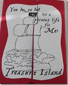 Treasure Island Unit Study @ Confessions of a Homeschooler
