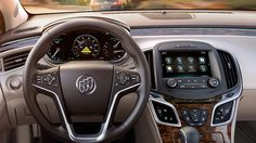 2015 LaCrosse luxury mid-size sedan has collision-avoidance technologies for safety and security.