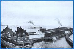 PORT ARTHUR, Ontario - Canadian Northern Railway Terminals Ontario, Port Arthur, Train Stations, Canada, Thunder, Travel, Viajes, Traveling, Trips