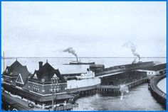 PORT ARTHUR, Ontario - Canadian Northern Railway Terminals