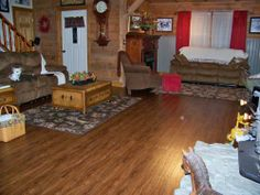 7.5 in. x 47.6 in. Vintage Oak Cinnamon Resilient Vinyl Plank Flooring (20 sq. ft./case)-517115 at The Home Depot