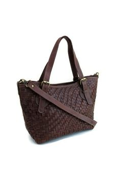 501cc91777fc Handmade leather tote bag brown tote leather bag by DeMamora Brown Leather  Purses, Cow Leather