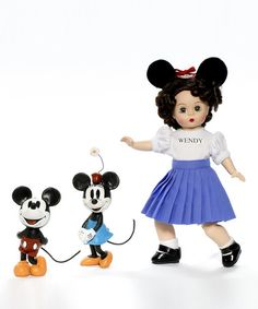 Take a look at this Mousketeer Wendy Set by Madame Alexander on #zulily today!