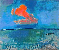 piet mondrian, red cloud, 1907