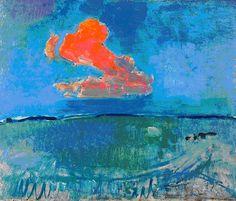 piet mondrian, red cloud, 1907