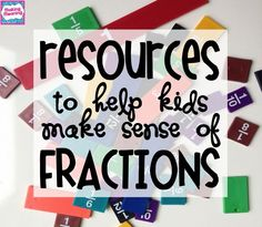fraction lesson plans for the Common Core- equivalent fractions, comparing fractions, understanding fractions, mixed numbers and improper fractions, adding and subtracting fractions, multiplying fractions