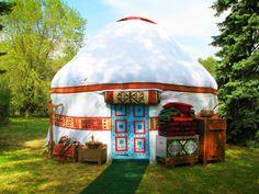 Traditional Kazakh Yurt