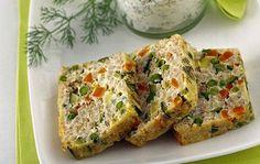 Terrine de macédoine de légumes au thon Weight Watchers, recette d'un délicieux flan légumes et de thon facile à faire et idéal pour un repas complet léger.