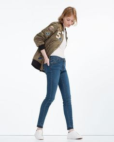 Image 1 of ESSENTIAL FITS JEANS from Zara