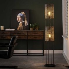 Retro Floor Lamp Charlie - Available at Furnwise! - Furnwise Entryway Tables, Living Room, Led, Interior, Furniture, Design, Home Decor, Products, Decoration Home