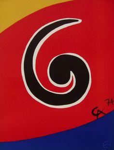 Flying Colors 1974 by Alexander Calder