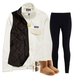 A fashion look from September 2016 featuring J.Crew vests, Patagonia activewear jackets and NIKE leggings. Browse and shop related looks. Lazy Day Outfits, Preppy Outfits, Cute Casual Outfits, Summer Outfits, Cute Fashion, Teen Fashion, Fashion Outfits, Fall Winter Outfits, Autumn Winter Fashion