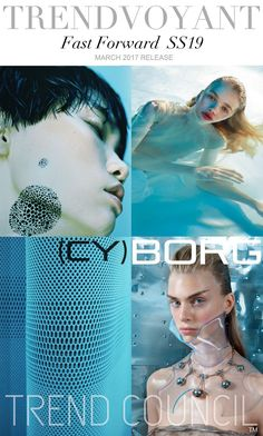 TRENDS // TREND COUNCIL - CYBORG . SS 2019
