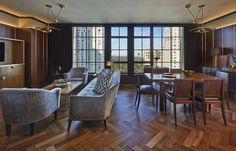Enliven Floors With a Herringbone Pattern  - ELLEDecor.com