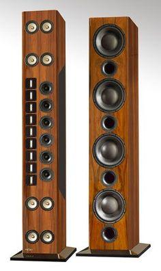 High End Audio Equipment For Sale Audiophile Speakers, Speaker Amplifier, Tower Speakers, Hifi Audio, Stereo Speakers, Desktop Speakers, High End Hifi, High End Audio, Audio Design