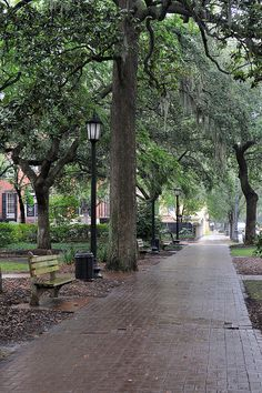 Peaceful Park - Savannah, GA | Flickr - Photo Sharing!