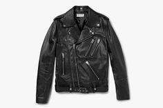 Saint Laurent Spring/Summer 2014 Leather Biker Jacket • Highsnobiety