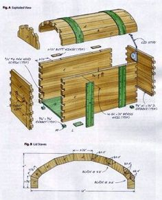 Ted's Woodworking Plans - Keepsake Trunk Plans - Other Woodworking Plans and Projects More Get A Lifetime Of Project Ideas & Inspiration! Step By Step Woodworking Plans Small Woodworking Projects, Woodworking Joints, Woodworking Patterns, Woodworking Workshop, Popular Woodworking, Woodworking Furniture, Diy Wood Projects, Fine Woodworking, Woodworking Crafts